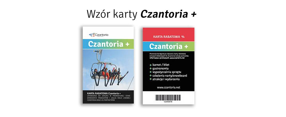 Karta rabatowa Czantoria +