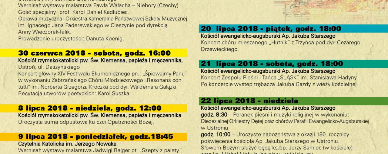 XIV Festiwal Ekumeniczny